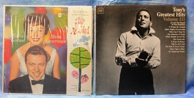 Lot Of 19 Lp Records Sinatra Streisand Nero Bennett