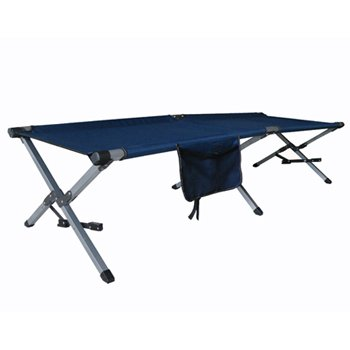 CUSCUS Folding Cot Camping Bed Weight Capacity 250 Lbs Blue at Sears.com