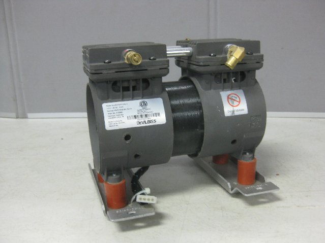 Pond aerator pump devilbiss zw370d14 air vacuum pump for Air compressor pump and motor