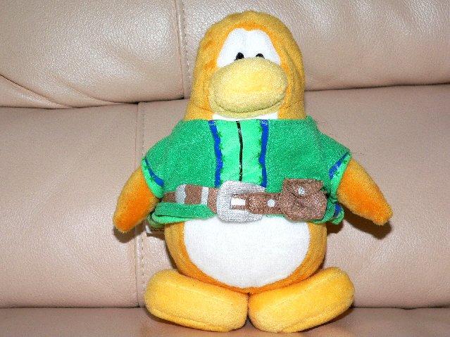 Disney Club Penguin Blue Puffle 4 Quot Inch Plush Bean Bag Toy