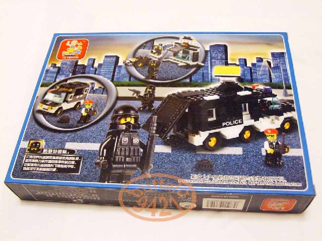 Toy Swat Trucks http://www.ioffer.com/i/block-brick-building-police-swat-command-car-truck-toy-147876015?source=eisi