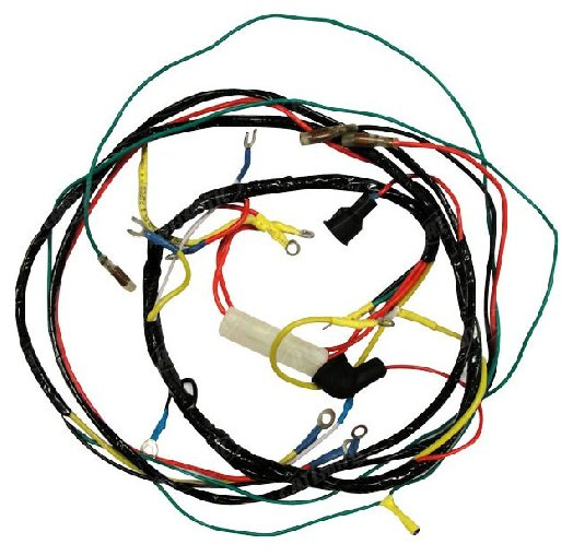 Ford 600 Tractor Wiring Diagram: FDN14401B Ford NH 6-Volt Wiring Harness Tractors 600 700