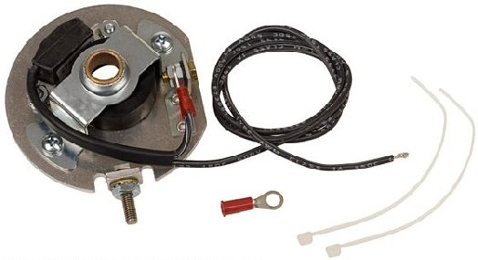 6 Volt Positive Ground Coil : Ef fmp ford tractor cyl volt electronic ignition kit