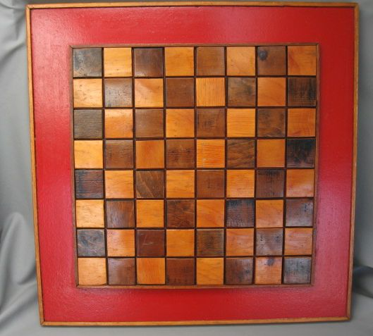 Checkerboard Game Template http://www.ebay.com/itm/Vintage-Large ...