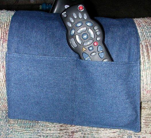 Fabric Chair Tv Remote Control Holder Organizer Caddy Ebay