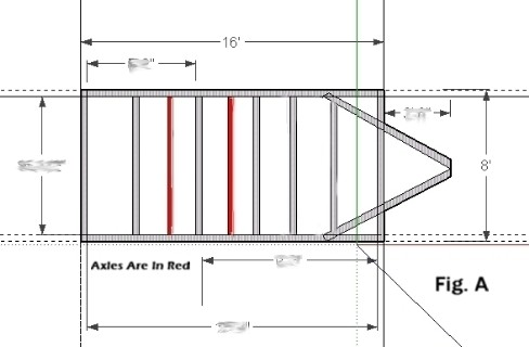 8x16adimage 1 trailer plans 8x16 low deck tandem utility trailer plans tandem axle utility trailer wiring diagram at soozxer.org