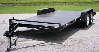 18 Heavy Duty Tandem Axle Car Trailer Plans With Instructions And BOM
