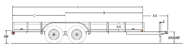 8x16 ATV Trailer Plans W Instructions And Materials List
