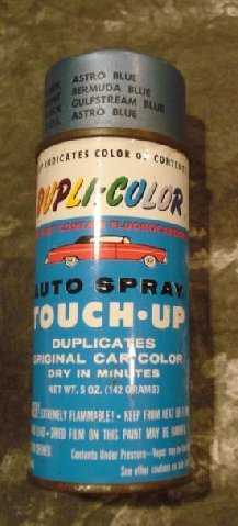 Dupli Color Paint For Die Cast Car