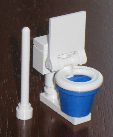 lego custom tile bathroom sink toilet bathtub shower wc dog bath no minifigure ebay. Black Bedroom Furniture Sets. Home Design Ideas