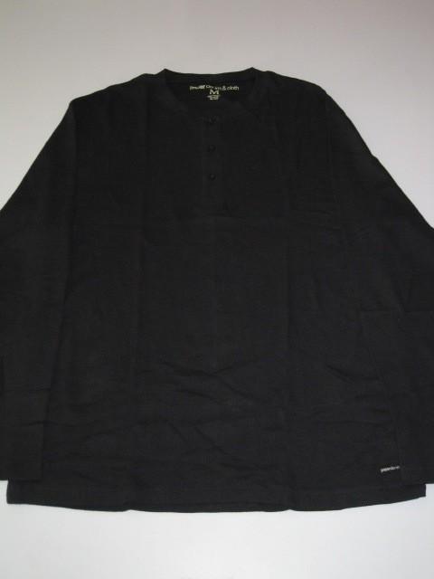 Paper Denim Cloth Thermal Black New Long Sleeve Shirt
