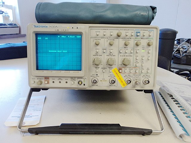 Pro Tek Digital Oscilloscope : Tek tektronix a digital oscilloscope option gpib ebay