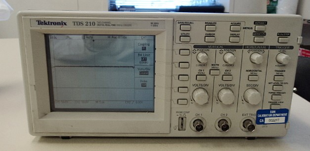 Pro Tek Digital Oscilloscope : Tek tds two channel digital real time oscilloscope ebay
