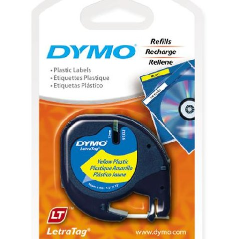 how to use dymo letratag 2000