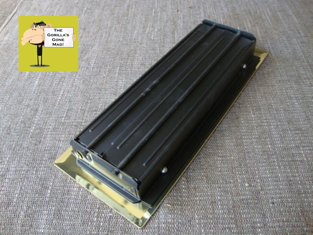 Ducted Heating Vent Floor Register Cover Brass Plated Ebay