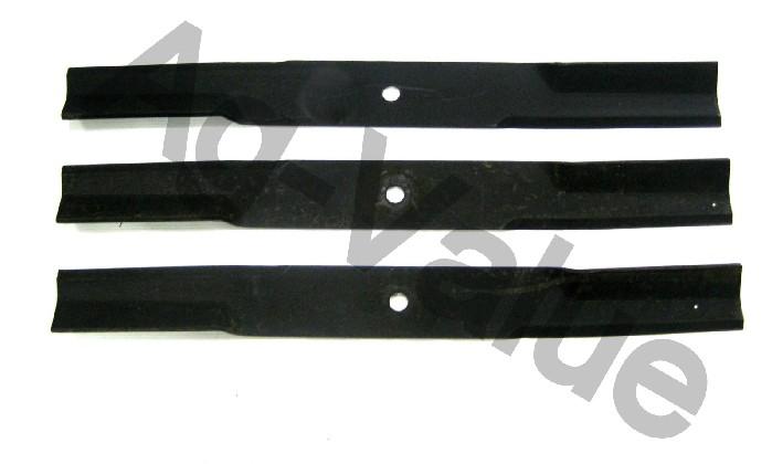 Mower Blades By Size : Bush hog quot bh mower blades oem set of ebay